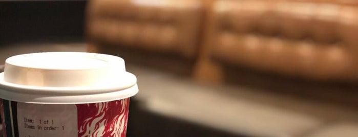 Starbucks is one of Orte, die Pawel gefallen.