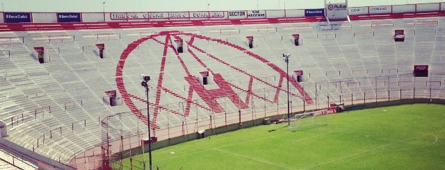 Estadio Tomás Adolfo Ducó (Club Atlético Huracán) is one of (EZE+).