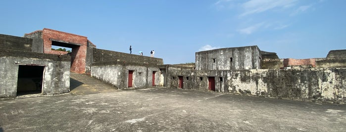 旗後砲台 Cihou Fort is one of Kaohsiung.