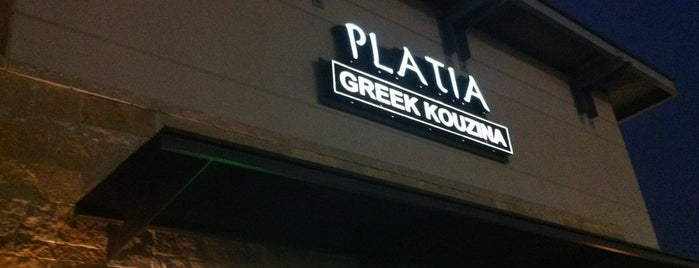 Platia Greek Kouzina is one of Places to go around Dallas.
