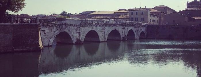 Ponte di Tiberio is one of Orte, die Julia gefallen.