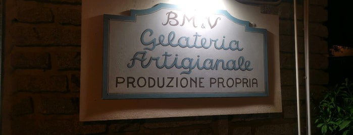 Gelateria Artigianale BM&V is one of Sardinia.