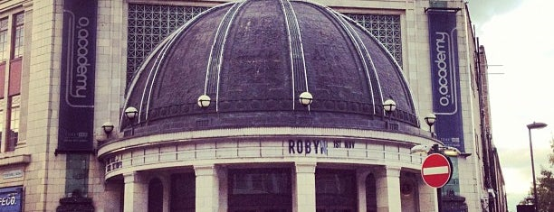 O2 Academy is one of Locais curtidos por Helen.