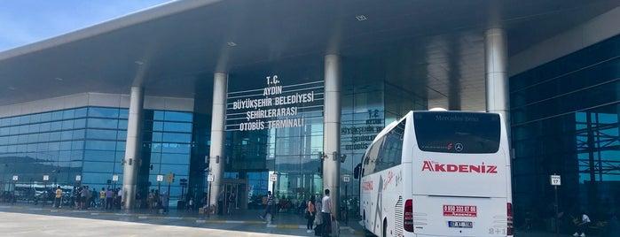 Aydın Şehirler Arası Otobüs Terminali is one of BuRcak 님이 좋아한 장소.