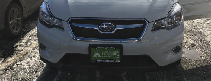 Evergreen Subaru is one of Subaru of New England Dealers.