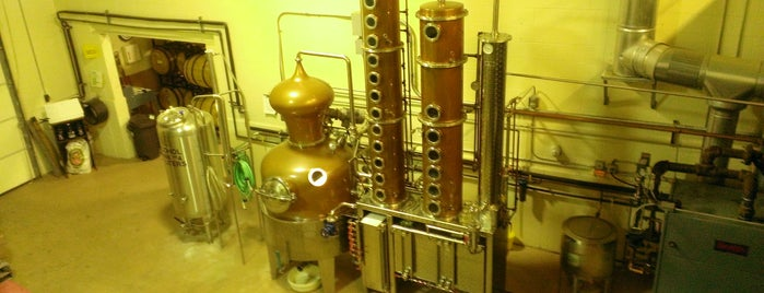Ryan & Wood Distillery is one of Boston trip 2014.
