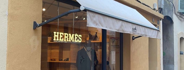 Hermes is one of Saint-Tropez/ France.