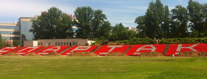 Стадион «Спартак» is one of Tempat yang Disukai Денис.