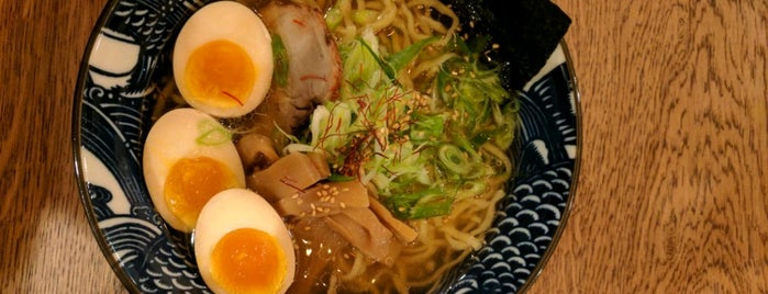 Hinodeya Ramen Bar is one of Posti salvati di Seth.