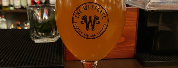 The Westgate Bourbon Bar and Taproom is one of Portland Restaurants.