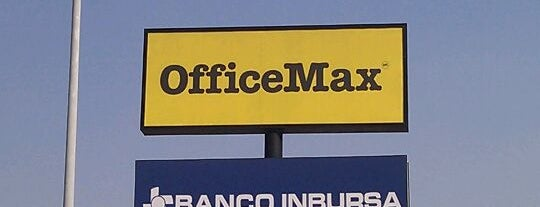 OfficeMax is one of Lugares favoritos de Santiago Argüero.