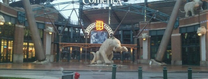 Comerica Park is one of Great Sport Locations Across United States.