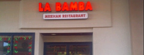 La Bamba Mexican Restaurant is one of Lugares guardados de Bob.