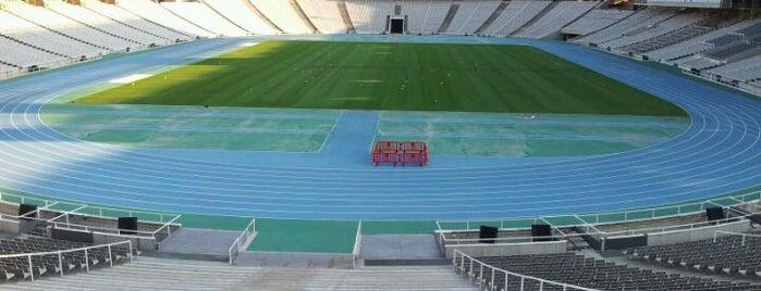 Estadi Olímpic Lluís Companys is one of BCN musts!.