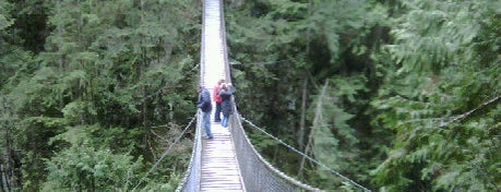 Lynn Canyon Suspension Bridge is one of wonders of the world.