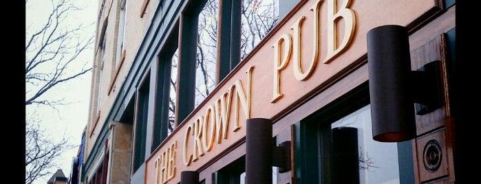 The Crown Pub is one of Gespeicherte Orte von Alecia.