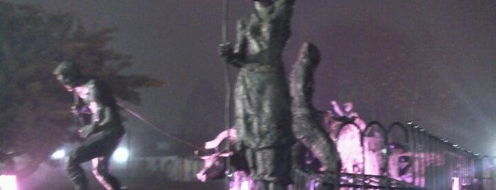 Monumento aos Imigrantes is one of Raquel'in Kaydettiği Mekanlar.