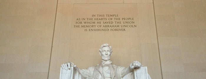 Lincoln Memorial is one of washington, d.c..