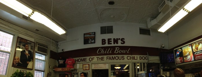 Ben's Chili Bowl is one of washington, d.c..