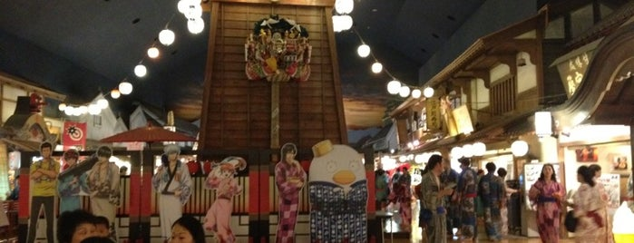 Oedo Onsen Monogatari is one of [To-do] Onsen.