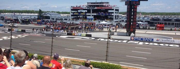 Pocono Raceway is one of places we like.