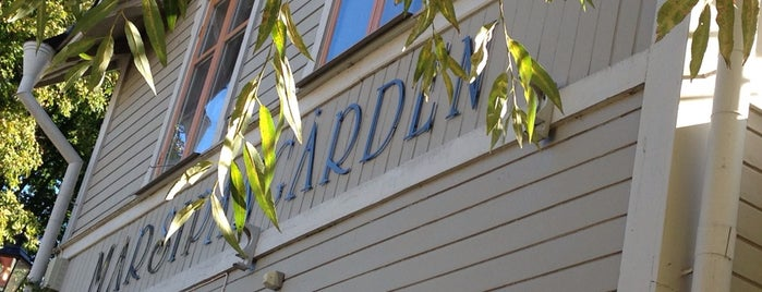 Marsipangården is one of Restaurants.