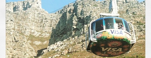 Table Mountain Aerial Cableway is one of #ETAS15 021 Cape Town.