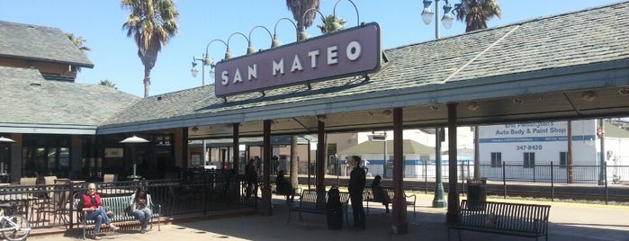 San Mateo Caltrain Station is one of caltrain stations.