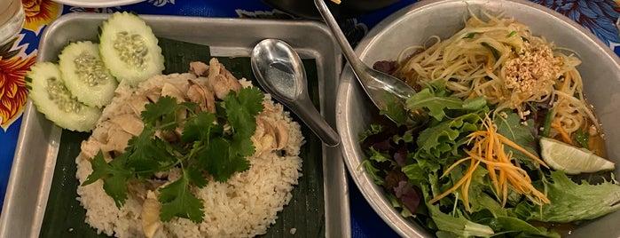 Pintoh Thai Street Food is one of Locais salvos de Paresh.