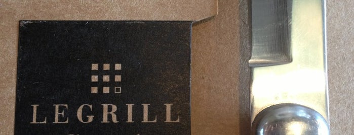 Le Grill is one of Restaurantes.