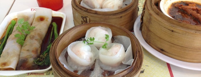 Shi-fu dimsum is one of Ho Chi Minh.