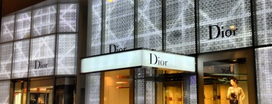Dior is one of Places to go when in New York.