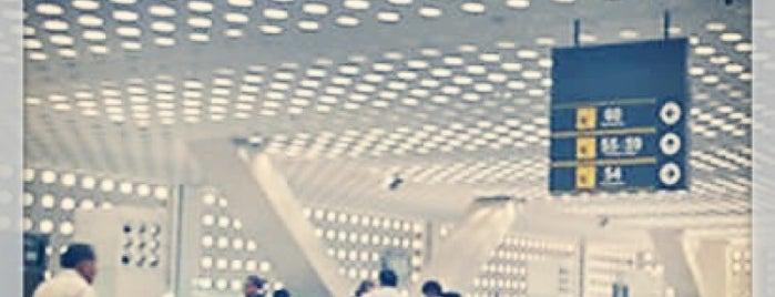 Terminal 1 is one of Por hacer en DF.