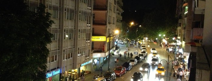 Tunalı Hilmi Caddesi is one of themaraton.