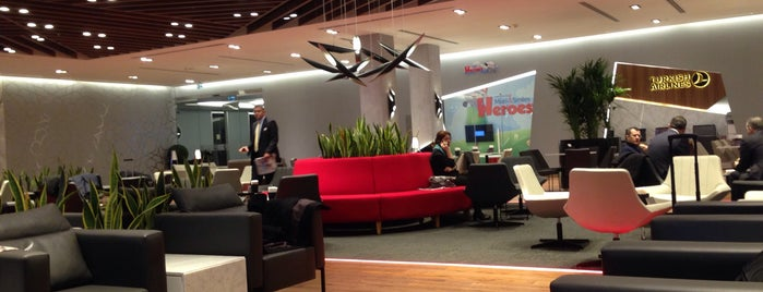 Turkish Airlines Lounge is one of Locais curtidos por Faruk.