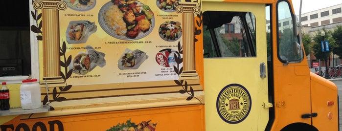 DC Greek Food is one of Washington DC Food Trucks.
