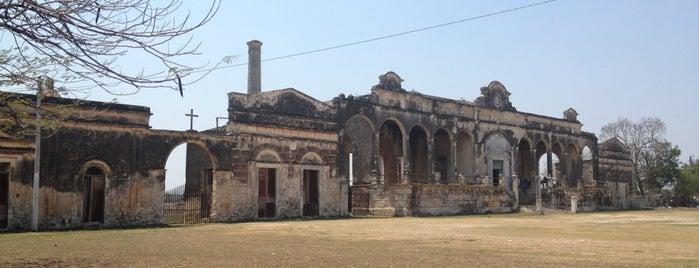 Hacienda Yaxcopoil is one of สถานที่ที่ Ricardo ถูกใจ.
