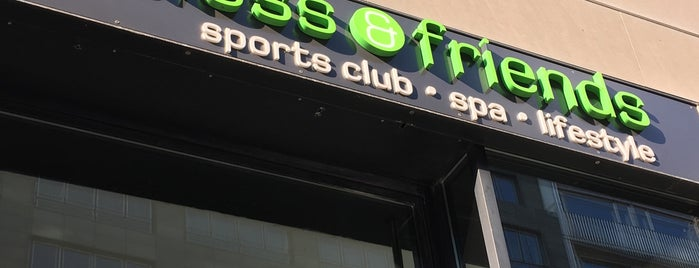 fitness & friends is one of Locais curtidos por 83.