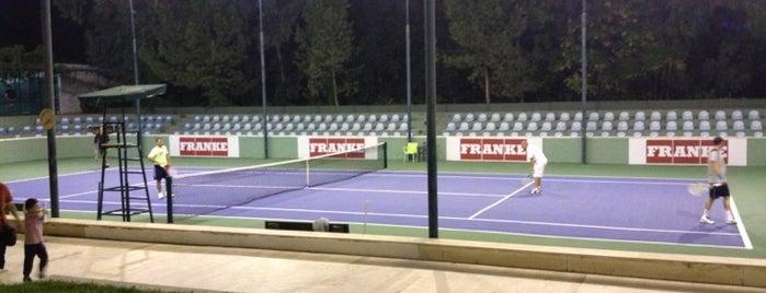 Antalya Tenis İhtisas ve Spor Kulübü (ATİK) is one of Yerler - Antalya.