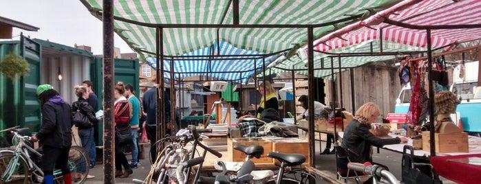 Netil Market is one of London Markets & Food Stalls.