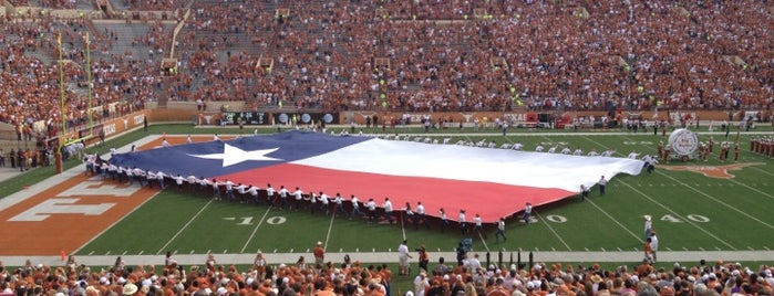 Darrell K Royal-Texas Memorial Stadium is one of Austin.