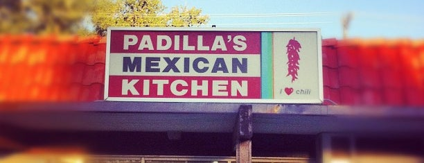 Padilla's Mexican Kitchen is one of Albuquerque.