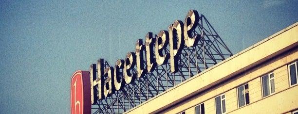 Hacettepe Üniversitesi is one of Lugares favoritos de Elif Merve.