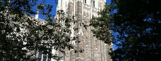 Duke University Chapel is one of North Carolina // Triangle.