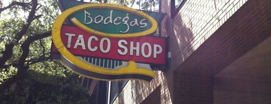 Bodegas Taco Shop is one of Lugares favoritos de Andres.