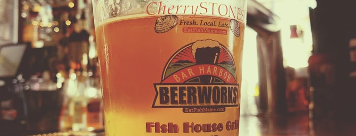 Bar Harbor Beerworks is one of Kapilさんの保存済みスポット.