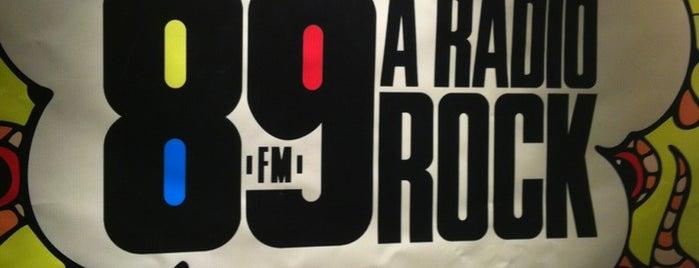 89 A Rádio Rock is one of Lugares favoritos de Guilherme.