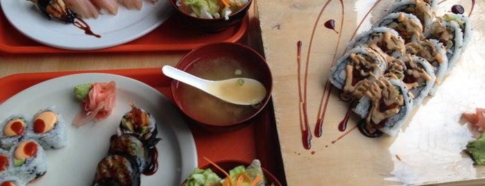 Sashimi Sashimi is one of Locais curtidos por Esra.