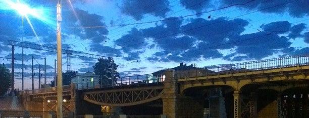Borovoy bridge is one of там где мы.