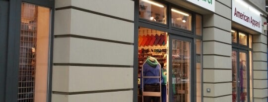 American Apparel is one of Must Do: Berlin.